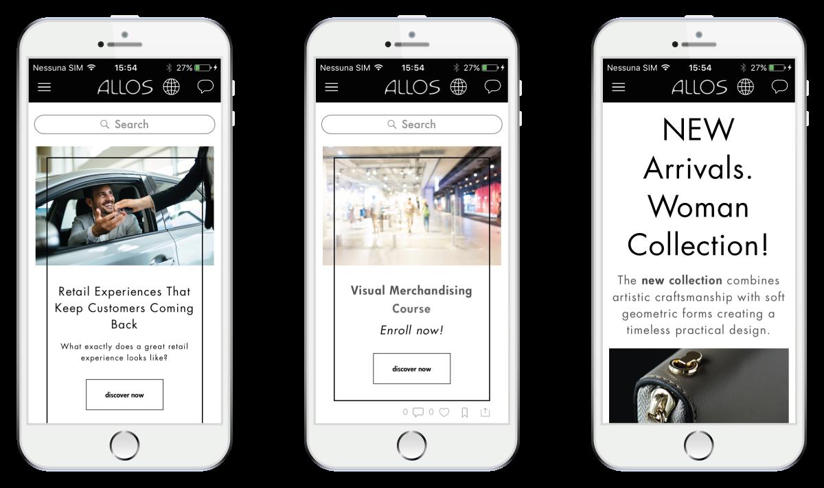 Store Engagement App