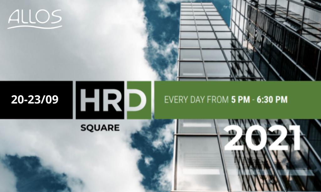 Locandina HRD Square 20-23 Settembre ALLOS e NOKIA