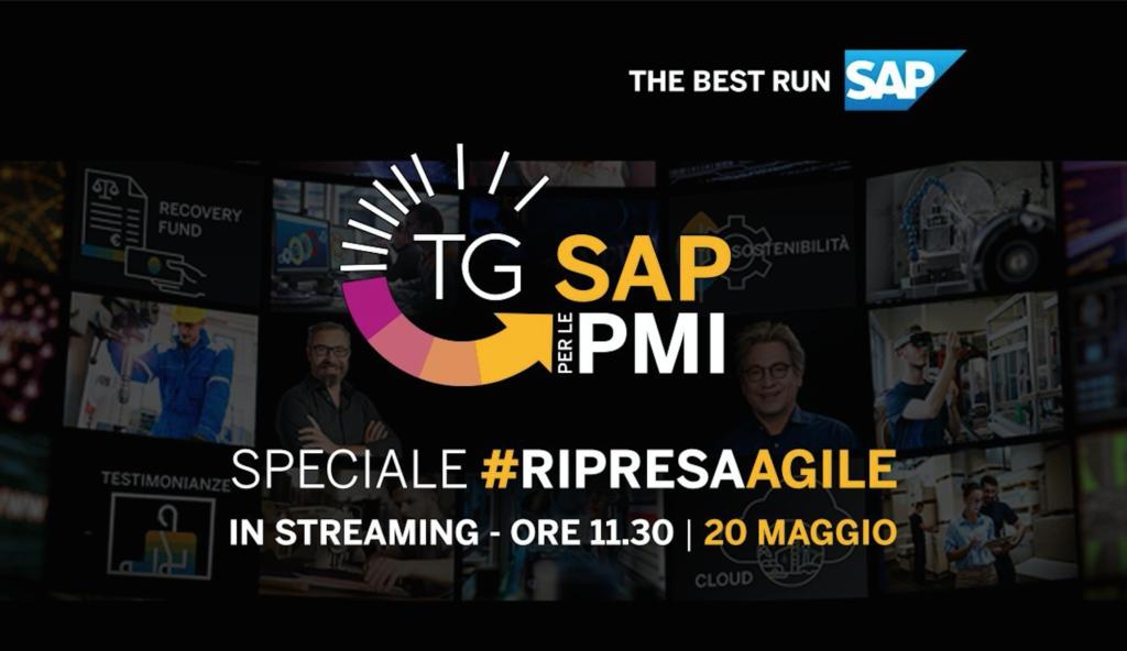#RipresaAgile   TG SAP per le PMI con Lucchini RS
