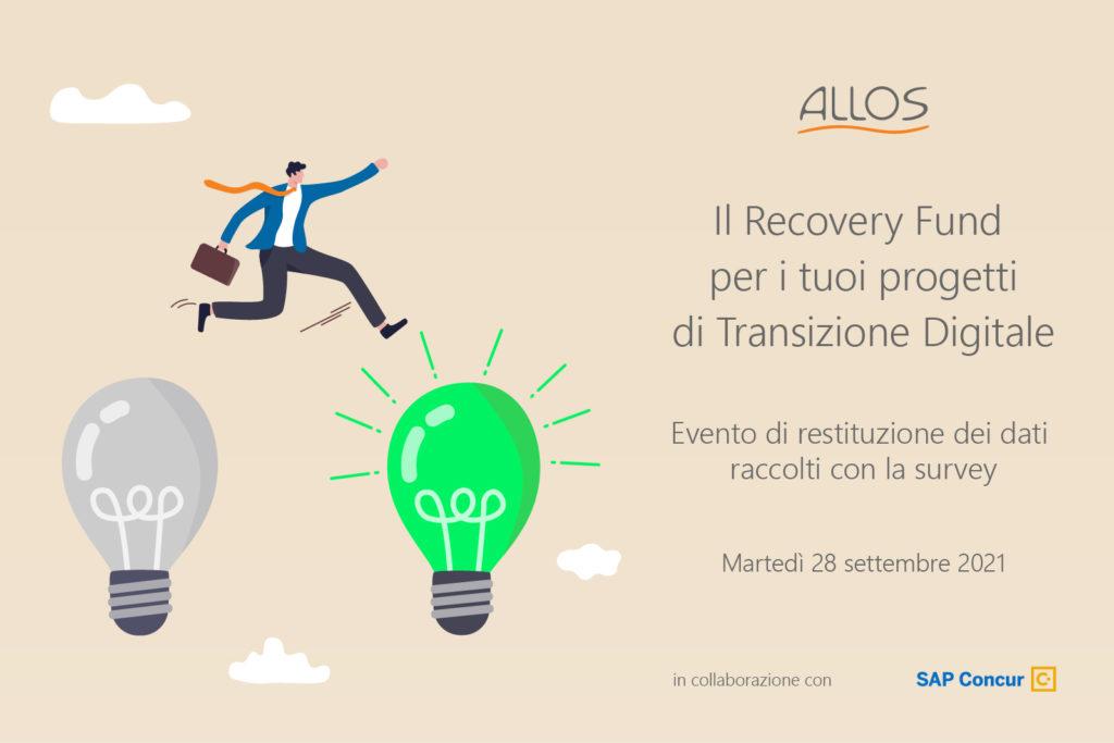 SAP Concur con ALLOS   Il Recovery Fund per i tuoi progetti di Transizione Digitale